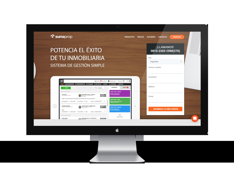 Sitio Web Sumaprop