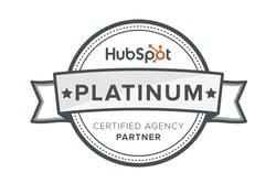 HubSpot Platinum Badge